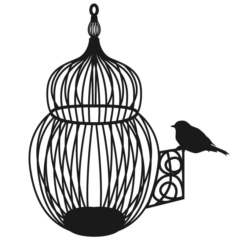 d cor m tal d cors muraux en m tal deco antique cage. Black Bedroom Furniture Sets. Home Design Ideas