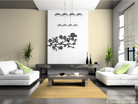 d cor m tal d cors muraux en m tal deco tendance zen. Black Bedroom Furniture Sets. Home Design Ideas